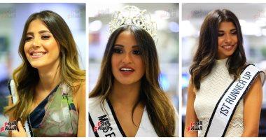 بالصور ملكات جمال مصر للكون 2018 في جولاتهن بـ اليوم السابع