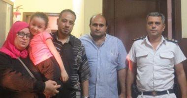 شرطة النقل تعيد ثلاثة أطفال بالسادات والمرج القديمة لمترو الأنفاق لأهاليهم