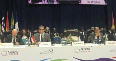 وزير الآثار يحضر افتتاح القمة الـ17 للمنظمة الدولية للفرانكفونية.. صور