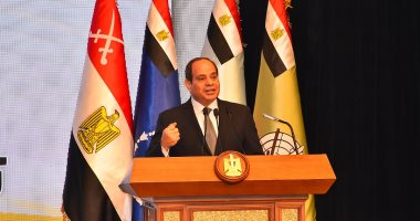الرئيس السيسى يشهد الندوة التثقيفية للقوات المسلحة ويكرم أبطال الجيش