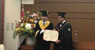 جامعة هيروشيما اليابانية تمنح وزير التعليم العالى الدكتوراه الفخرية