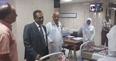 وكيل وزارة الصحة بشمال سيناء يتفقد مستشفى العريش