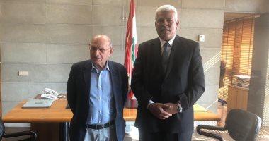 نقيب الزراعيين يلتقى نظيره اللبنانى لبحث إمكانية التعاون فى مجال التدريب