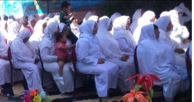 صور .. حفل ترفيهي لسجينات دمنهور بمناسبة إحتفالات أكتوبر