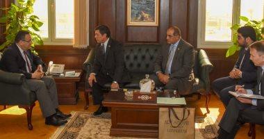 محافظ الإسكندرية يستقبل سفير أوزباكستان لبحث سبل التعاون بين الجانبين