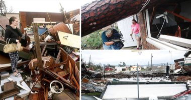 """فيديو.. غضب الطبيعة يضرب الولايات المتحدة.. الإعصار """"مايكل"""" يلحق خسائر غير مسبوقة فى فلوريدا.. حاكم الولاية يحذر من دمار يفوق الوصف.. ترامب يعلن الطوارئ.. وملاحق العاصفة: الأمر يشبه إلقاء """"قنبلة نووية"""""""