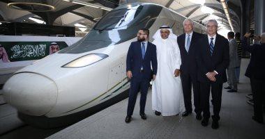 شاهد انطلاق قطار الحرمين السريع فى أولى رحلاته التجارية بين مكة والمدينة