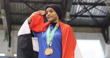 نعمة سعيد تحرز فضية رفع الأثقال فى أولمبياد الشباب