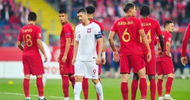 البرتغال تتفوق على بولندا 2-1 بالشوط الأول فى دورى الأمم الأوروبية