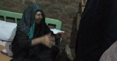 """صور.. استجابة لـ""""اليوم السابع """"..محافظ سوهاج يقرر صرف إعانة ومعاش لعجوز"""