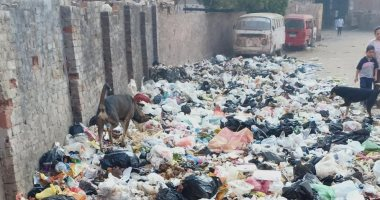 انتشار القمامة بشارع العشرين ببولاق الدكرور
