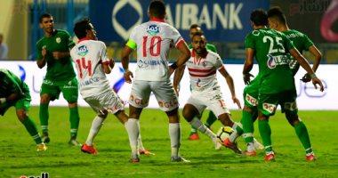 صور.. إبراهيم حسن يحرز الهدف الأول للزمالك أمام منية سمنود فى الدقيقة 83