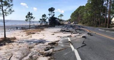 صور.. تضرر المنازل والطرقات العامة بولاية فلوريدا الأمريكية بسبب إعصار مايكل