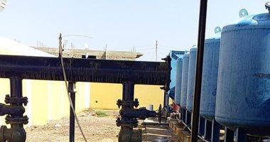 صور.. أهالى أسوان يطالبون بتطوير محطات مياه الشرب للقضاء على ضعفها بالمحافظة