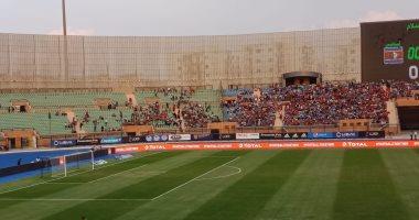 صور.. 5 آلاف مشجع قبل 90 دقيقة من مباراة مصر و سوازيلاند