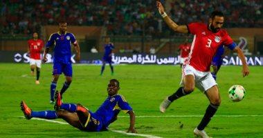 تريزيجيه يسجل الهدف الثالث لمصر فى شباك سوازيلاند