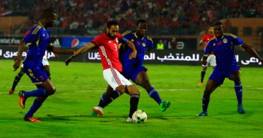 أحمد المحمدى يسجل الهدف الأول فى شباك سوازيلاند بالدقيقة 7