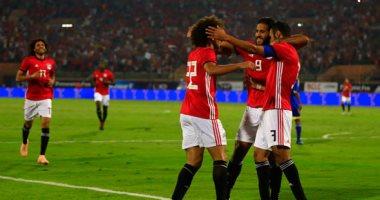 صور.. منتخب مصر يتقدم على سوازيلاند 2-0 بعد 15 دقيقة