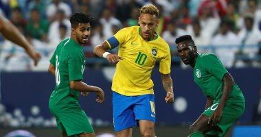 25 صورة تلخص كرنفال مباراة السعودية ضد البرازيل فى الدورة الرباعية