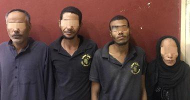 ضبط 4 أشخاص هاربين من حبل المشنقة لارتكابهم جريمة قتل فى قنا
