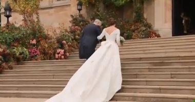 فيديو.. حفل زفاف الأميرة يوجيني على الأمير جاك بروكسبانك بلندن