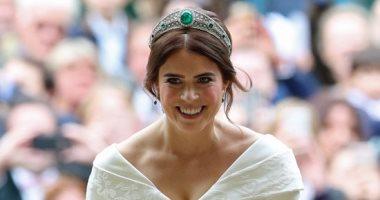 حفل زفاف الأميرة يوجينى حفيدة الملكة إليزابيث فى قلعة وندسور
