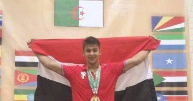 عبد الله جلال يتوج ببرونزية رفع الأثقال فى أولمبياد الشباب