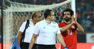 طبيب المنتخب: محمد صلاح لم يشتك من آلام قبل مباراة سوازيلاند