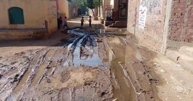 قارئ يشكو غرق قرية المريج فى شبين القناطر بمياه الصرف الصحى