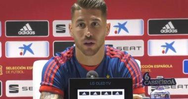 راموس: إنجلترا تمتلك لاعبين من طراز عالمى.. وإسبانيا استعادت الانضباط