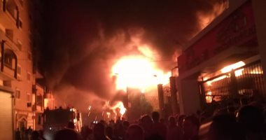 نفوق 19 رأس ماشية فى حريق داخل منزل بمركز الوقف فى قنا