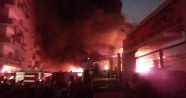 السيطرة على حريق داخل شقة بسبب ماس كهربى بطنطا