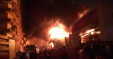 السيطرة على حريق داخل ورشة سيارات فى بولاق الدكرور دون إصابات