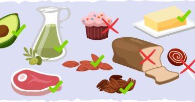 فوائد الدهون الصحية للجسم.. أبرزها دعم نمو الخلايا