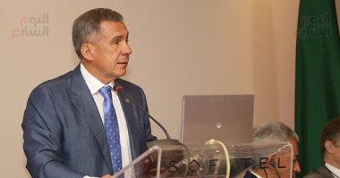 رئيس تتارستان يعلن دعم بلاده لعودة السياحة الروسية إلى مصر