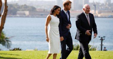 الأمير هارى وزوجته ميجان ماركل فى أستراليا