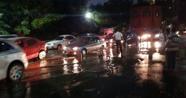 إنقطاع مياه الشرب شرق الاسكندرية بسبب كسر ماسورة