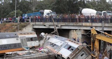 6 ضحايا وعشرات المصابين فى خروج قطار عن القضبان بالمغرب