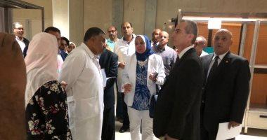 جولة الدكتورة سهير عبد الحميد رئيس هيئة التأمين الصحى
