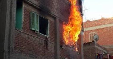 السيطرة على حريق نشب فى منزل بقرية كلاحين أبنود بقنا