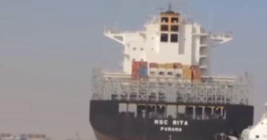تداول 25 سفينة بضائع وحاويات بموانئ بورسعيد