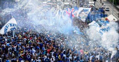 احتفالات كروزيرو بلقب كاس البرازيل
