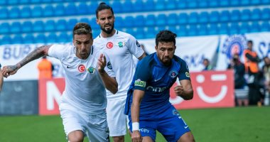 محمود تريزيجيه فى مباراة اليوم