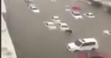 الدوحة تغرق