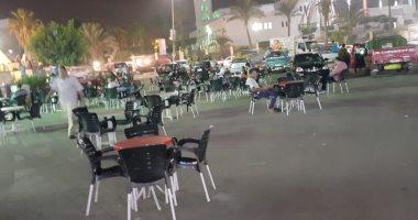 كيف ستمنع محافظة الجيزة إشغالات المقاهى فى رمضان.. تعرف على الإجراءات