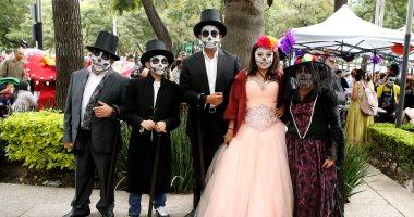 انطلاق فعاليات يوم الموتى فى المكسيك
