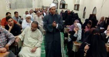 صور.. إقبال كثيف على مراكز الأوقاف بشمال سيناء يعكس حالة الأمن