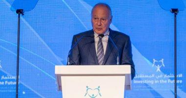 أبو الغيط: ضرورة إعداد التعليم وأسواق التوظيف العربية لمواكبة الاقتصاد الرقمى