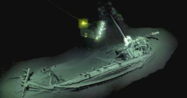 السفينة الغارقة فى قاع البحر الأسود