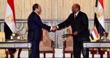 نص البيان الختامي لاجتماعات اللجنة المصرية السودانية برئاسة السيسي والبشير 201810250652195219.j